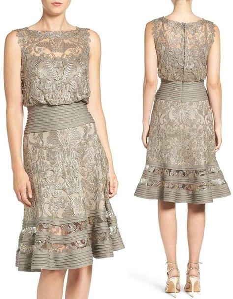 Short dress for the golden wedding  #dress #golden #short #wedding