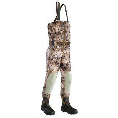 Details About Sitka Gear Marsh Delta Zip Wader Optifade Waterfowl Xlt10 Boot 50169 Wl Xlt 10 Waders Sitka Gear Hunting Clothes