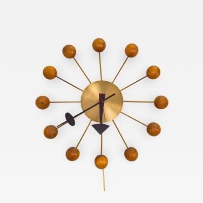 George Nelson Original 1950s George Nelson Ball Clock In 2020 George Nelson Clock Japanese Interior Design