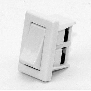 Tischleuchten Wippschalter Lampen Einbauschalter Weiss 250v 2a Schraubanschluss Wippschalter Wippen Schalter