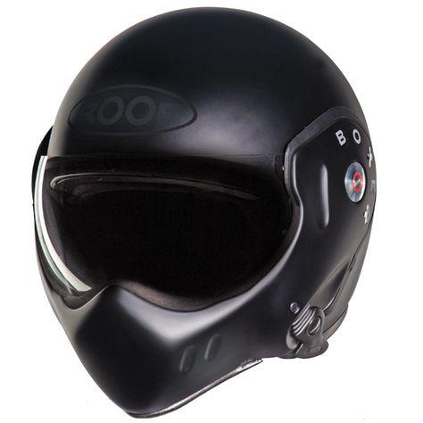 Roof Crash Helmets Review The Boxer Classic Motorcycle Helmets Helmet Biker Helmets
