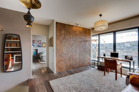 Bureau appartement parisien de 140m2 gcg architectes masculin
