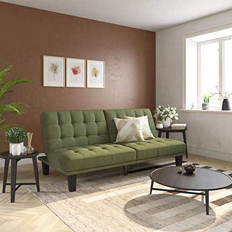 Enjoy Exclusive For Dhp Dexter Futon Lounger Convertible Sofa Bed Couch Light Green Futon Online In 2020 Sofa Couch Bed Sofas For Small Spaces Sofa