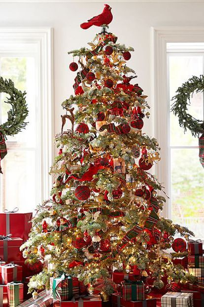 Cardinal Christmas Tree Topper With Images Christmas Tree Decorations Christmas Tree Toppers Christmas Tree