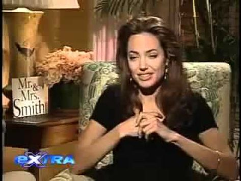 Angelina Jolie Mr And Mrs Smith Interview Angelina Jolie Interview On Mr Mrs Smith Youtube Angelina Jolie Interview
