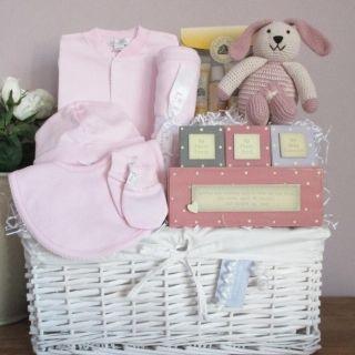 Baby Gift Basket, Baby Gift Hamper, boy & girl luxury newborn baby ...