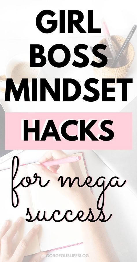Habits of successful women how to have a girl Boss mindset. Personal Development tips and ideas
