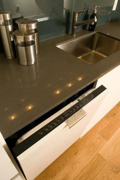 How To Attach A Dishwasher To A Stone Countertop Kitchen