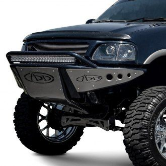 Add Stealth Full Width Black Front Pre Runner Bumper With Hoop Ford F150 Ford Trucks F150 Jeep Bumpers