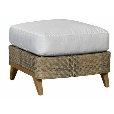Lane Venture Cote D Azur Outdoor Ottoman With Cushion Cushion