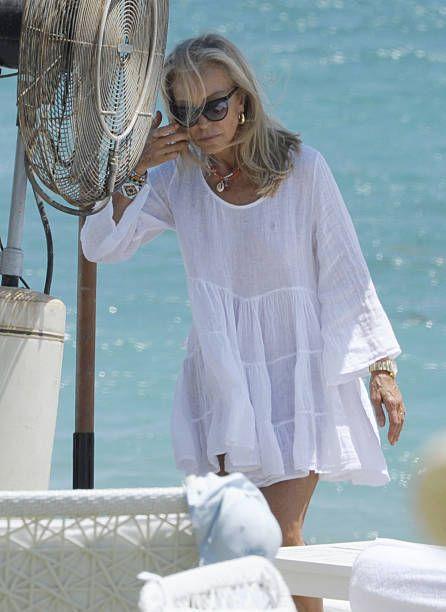 Celebrities Sighting In Marbella August 01 2016 Older Beauty Celebrity Sightings Marbella