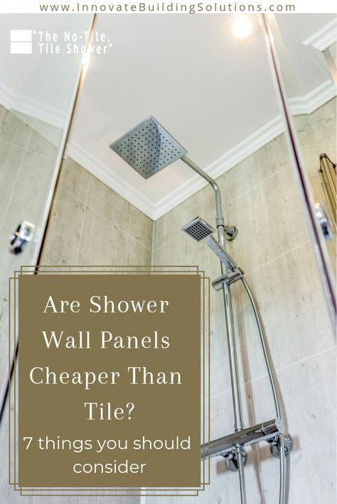 Why Not Consider This Approach For Something Totally Different Restroom Renovation Shower Wall Panels Bathroom Wall Panels Shower Wall
