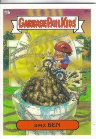 Garbage Pail Kids 2003 22b Bmx Ben Garbage Pail Kids Garbage Pail Kids Cards Garbage