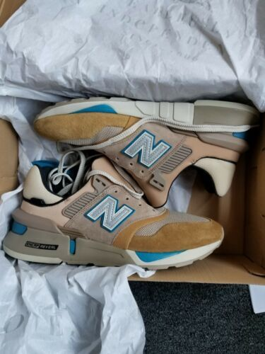designer fashion ac64a 57777 Details about New Balance 997 x KITH x NONNATIVE Tan Size 11 ...