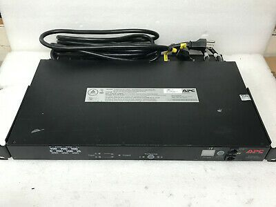 Ebay Sponsored Apc Ap7750a 10 Outlet Automatic Transfer Switch Ats 100v 120v Used Z 2 Transfer Switch Ebay Apc