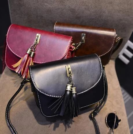 Leyorie Fashion Cross Body Single Shoulder Bag Zipper Fashion Purse Women Handbag