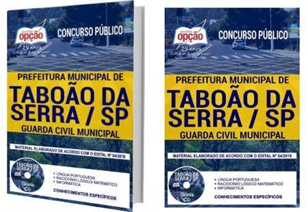 Apostila Concurso Prefeitura De Taboao Da Serra Sp 2018 Guarda