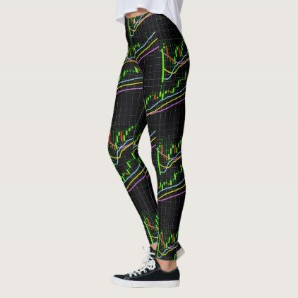 Forex Market Candlestick Leggings Zazzle Com Running Tights