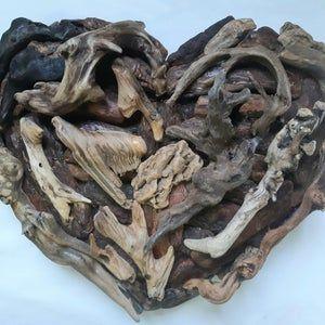 Driftwood wreath,wood front door hanging,beach decor,coastal,lake,driftwood candleholder,nautical,wood wall art,shells,cottage,rustic