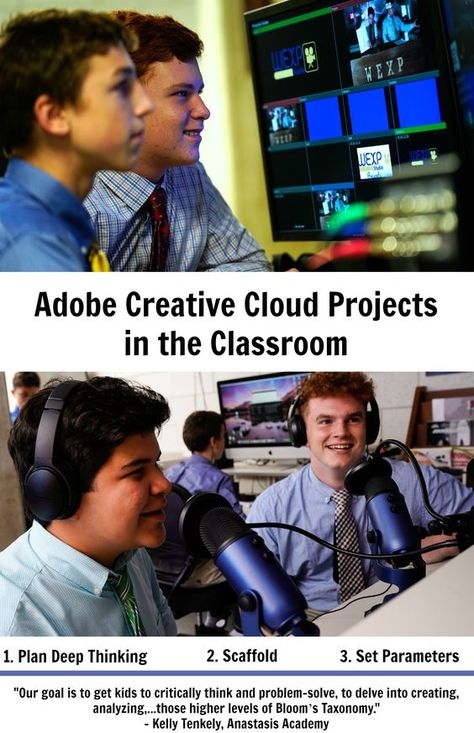 Adobe Creative Cloud Projects in the Classroom