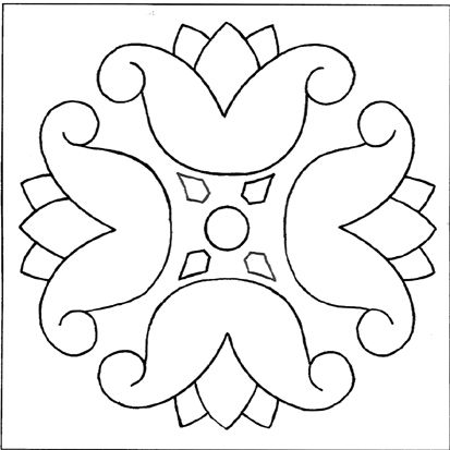 زخرفة نباتية سهلة الرسم اجمل Islamic Paintings Page Borders Design Art Drawings