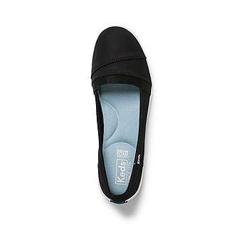 Keds Womens Carmel Twill Slip-On Shoe