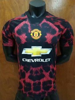 e41a3a9f5 2018-19 Cheap Jersey Man United EA Red Replica Soccer Shirt  DFC276 ...