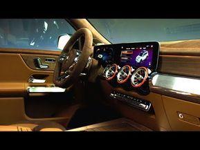 2020 Mercedes Benz Glb Interior Youtube Mercedes Mercedes