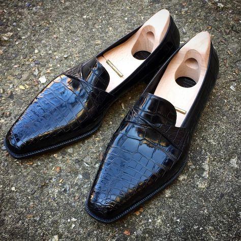 Pin by Owolabi Bukola on Men's world | Pinterest | Tassel loafers,  Crocodile and Brighton