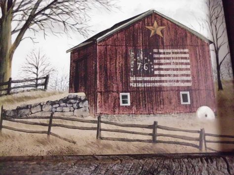 Prmitive Barn Picture with a Reclaimed Barn Wood by phyllissexton