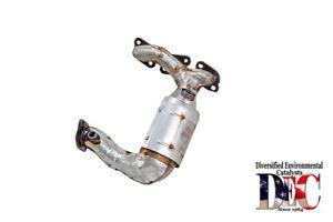 A Exhaust Manifold With Integrated Catalytic Converter Fits 03 04 Mazda 6 30l V6