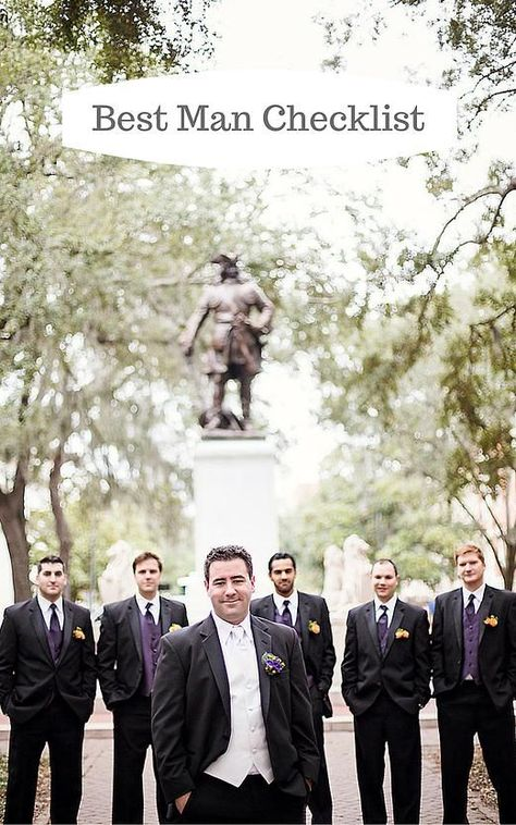 Being asked to be the best man in your friend's wedding is a great honor.  With this honor come some responsibilities besides holding on to the ring during the ceremony.  The following is a guide to best man responsibilities.  DIY Wedding Planning & Advice