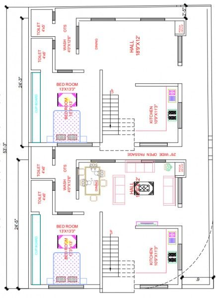 North East Facing House Map Diagonal Plot Plan Design House Construction Plan South Facing House North Facing House