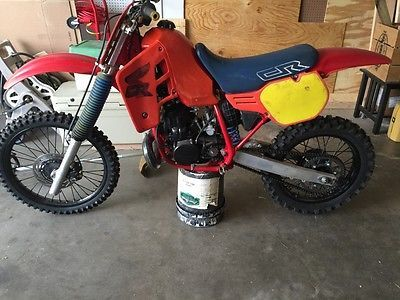 Ebay 1986 Honda Cr Vintage 1986 Honda Cr500 Dirt Bike Rebuilt