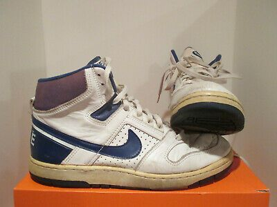 Nike 80s Delta Force Original Basketball Size 10 5u Vintage Rare Collectable In 2020 Nike Nike Air Force Sneaker Sneakers Nike