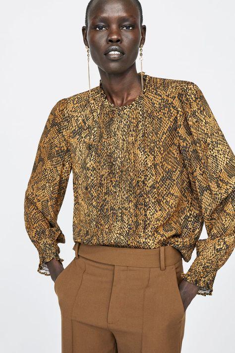 Blusa estampado animal | js.di Blusas | Blusas animal print