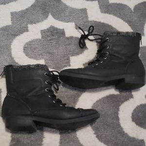 Kohl's Women's Lace up combat boots in