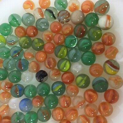 Ebay Sponsored 2 5 Pounds Of Vintage Marbles Clearies Cats Eye Multicolored Iridescent 10 12mm Marble Bag White Cat Eye Vintage Cat