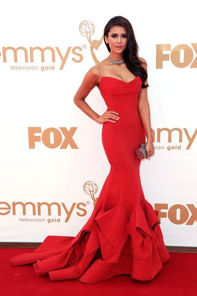 Nina Dobrev 2011 - The Most Daring Emmy Dresses of All Time - Photos