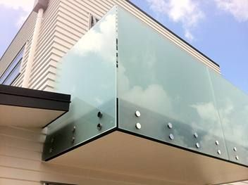 Awesome Frameless Glass Balcony