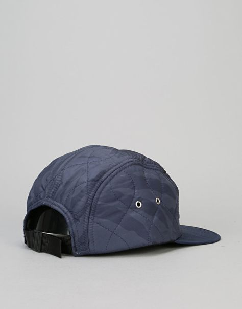 ACAPULCO GOLD LOGO PATCH 5-PANEL HAT MENS STREETWEAR STRAPBACK CAP
