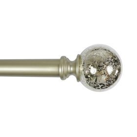 1 Laurel Glass Curtain Rod 84 120 In Glass Curtain Curtain Rods Glass