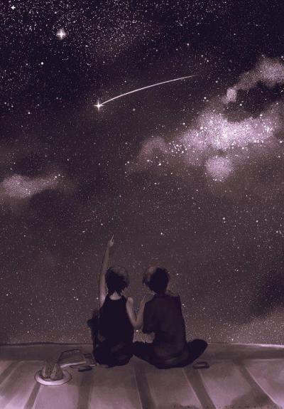 Pin by Jannatul Fardous Maliha on Love life❤ in 2020   Star illustration,  Cute couple art, Look at the moon