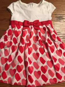 factory authentic run shoes run shoes Gymboree Toddler Girls Size 4T Heart Print Valentine's Day ...