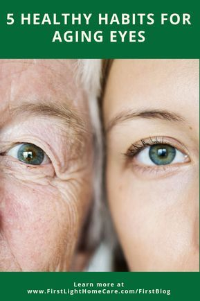 Eye Care 5 Healthy Habits For Aging Eyes Firstlight Home Care In 2020 Healthy Eyes Eye Care Eye Health