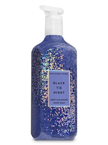Black Tie Night Deep Cleansing Hand Soap Bath And Body Works