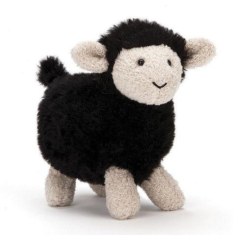 Jellycat FAF6SB Farm Friends Black Sheep
