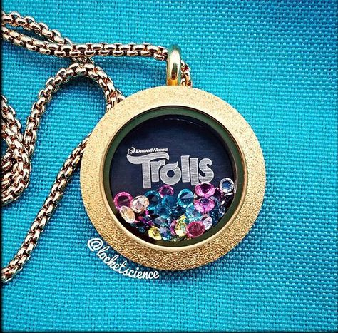 Origami Owl. Trolls, available Oct 1st 2016. www.CharmingLocketsByAline.OrigamiOwl.com