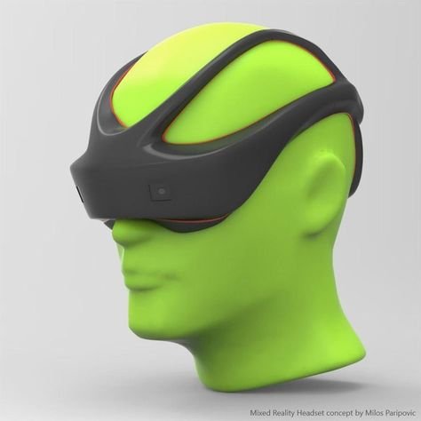 future technology concept Design is part of Tuvie Modern Industrial Design Ideas And Future Technology - VR Headset Concept Design