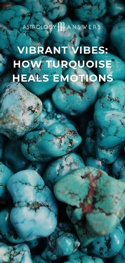 Turquoise has long been used as a protective stone. It can help us feel cleansed and more energized when we work with it. #turquoise #turquoisestones #gems #stones #crystals #crystalhealing